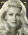 CATHERINE DENEUVE New Flix (4/91) JAPAN Magazine