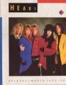 HEART 1990 Brigade World Tour JAPAN Tour Program
