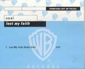 SEAL Lost My Faith GERMANY CD5 Promo w/1 Track
