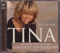 TINA TURNER All The Best UK 2CD w/33 Tracks