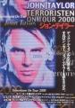JOHN TAYLOR Terroristen On Tour 2000 JAPAN Promo Tour Flyer