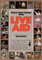 U2 Live Aid: World-Wide Concert Book USA Picture Book