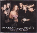 MARIAH CAREY featuring WESTLIFE Against All Odds UK CD5 w/4 Tracks