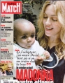 MADONNA Paris Match (11/09-15/06) FRANCE Magazine