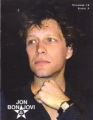 BON JOVI Backstage With Jon Bon Jovi (Vol.11 Issue 3) USA Magazine