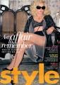 MADONNA Style (4/19/09) UK Magazine