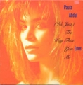 PAULA ABDUL (It's Just) The Way That You Love Me UK 12