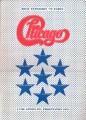 CHICAGO 1972 JAPAN Tour Program w/Ticket Stub