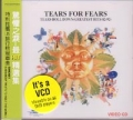 TEARS FOR FEARS Tears Roll Down (Greatest Hits 82-92) JAPAN VCD