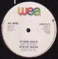 STEVIE NICKS Stand Back UK 12