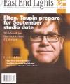 ELTON JOHN East End Lights (#39) USA Fan Club Magazine