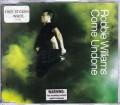 ROBBIE WILLIAMS Come Undone CD5 EU w/3 Tracks+Sticker