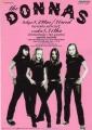 DONNAS 2000 JAPAN Promo Tour Flyer