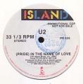 U2 (Pride) In The Name Of Love USA 12