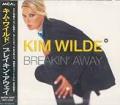 KIM WILDE Breakin' Away JAPAN CD5 w/4 Mixes