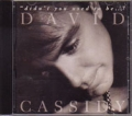DAVID CASSIDY Didn't You Used To Be... USA CD used