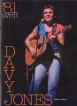 DAVY JONES December 1981 JAPAN Tour Program