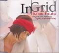 INGRID Tu Es Foutu (You Promised Me) GERMANY CD5