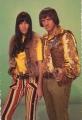 CHER Sonny & Cher 1965 CANADA Postcard