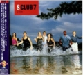 S CLUB 7 S Club JAPAN CD w/Bonus Track