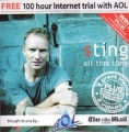 STING ... All This Time UK CD given away with The Sunday Mail w/