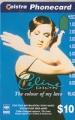 CELINE DION Telstra JAPAN Telephone Card