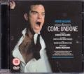ROBBIE WILLIAMS Come Undone UK DVD PAL Region 2