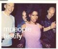 M PEOPLE Testify UK CD5 w/Live Tracks