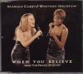 MARIAH CAREY & WHITNEY HOUSTON When You Believe AUSTRALIA CD5