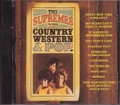 THE SUPREMES Sing Country Western & Pop USA CD