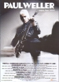PAUL WELLER 2009 JAPAN Promo Tour Flyer