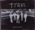 TRAIN She's On Fire UK CD5 w/ Live Tracks & Video
