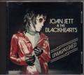 JOAN JETT & THE BLACKHEARTS Unvarnished USA CD Advance Copy