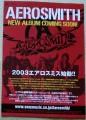 AEROSMITH 2004 JAPAN Promo Advance Flyer