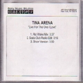 TINA ARENA Live For The One I Love USA CD5 Promo Test Pressing