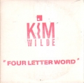 KIM WILDE Four Letter Word USA CD5 Promo Only