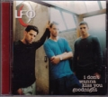 LFO I Don't Wanna Kiss You Goodnight USA CD5 Promo Only w/2 Tracks