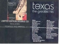 TEXAS The Greatest Hits UK 2CD Ltd.Edition Remixes and Videos