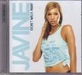 JAVINE Don`t Walk Away EU CD5 w/Remixes