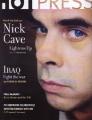 NICK CAVE Hot Press (2/6/03) UK Magazine