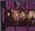VIXEN Love Made Me UK  CD5 w/ REMIX