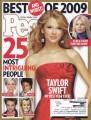 TAYLOR SWIFT People (12/28/09) USA Magazine