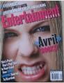 AVRIL LAVIGNE Entertainment Weekly (11/1/02) USA Magazine