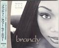 BRANDY Never Say Never JAPAN CD w/Bonus Track