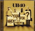 UB40 Who Are You Fighting For? EU 2CD