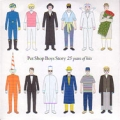 PET SHOP BOYS Pet Shop Boys Story: 25 Years Of Hits UK CD Promo Only