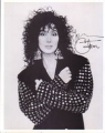 CHER Cher with arms crossed USA Photo