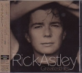 RICK ASTLEY Greatest Hits JAPAN CD