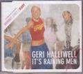 GERI HALLIWELL It's Raining Men EU CD5 Promo w/2 Versions