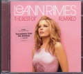 LEANN RIMES The Best Of Reann Rimes Remixed UK CD
